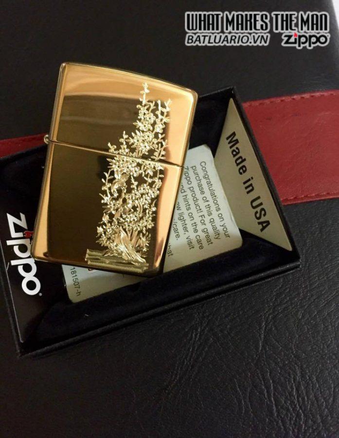 Zippo khắc Mai – Zippo 254B.MAI 2