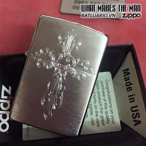 Zippo khắc Thánh Giá 02 – Zippo 200.TG02