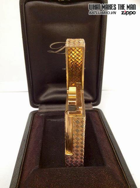Dupont 2line 18K Solid Gold 5