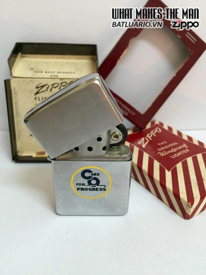 Zippo 1956 New Full Box 9