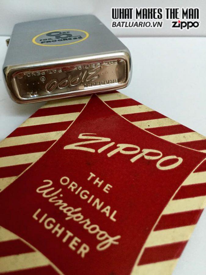 Zippo 1956 New Full Boxv 8