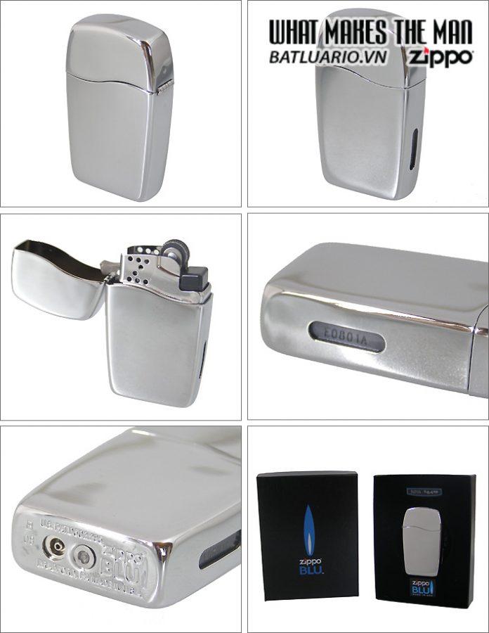 Zippo 30039 – Zippo Blu High Polish Chrome 4