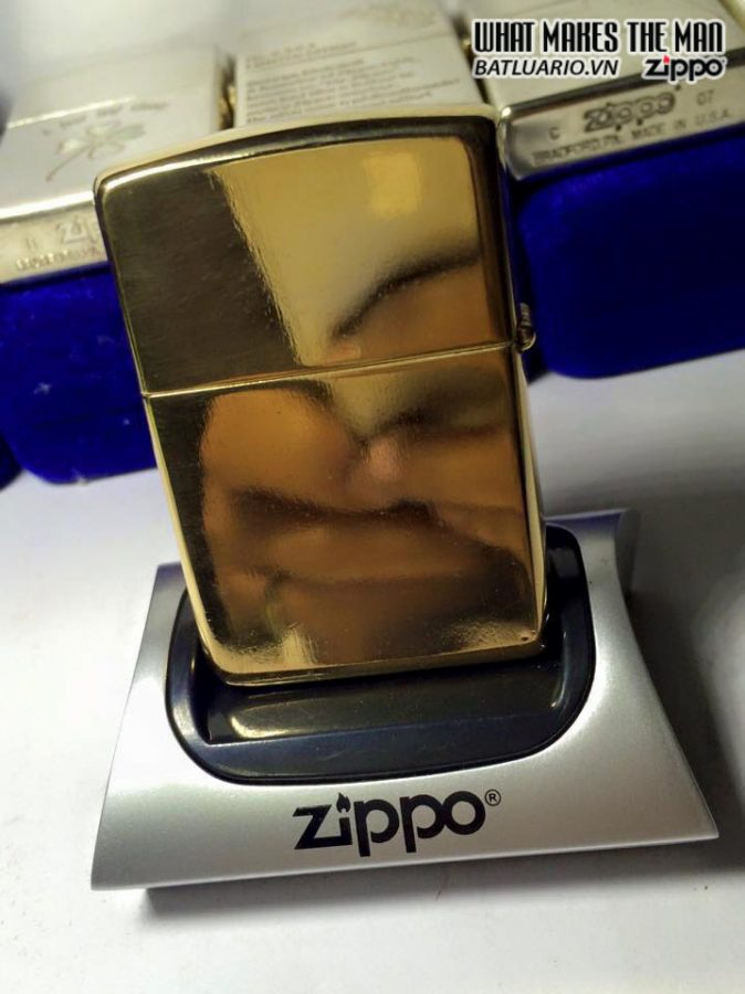 ZIPPO 1997 – GOLD PLATED 2