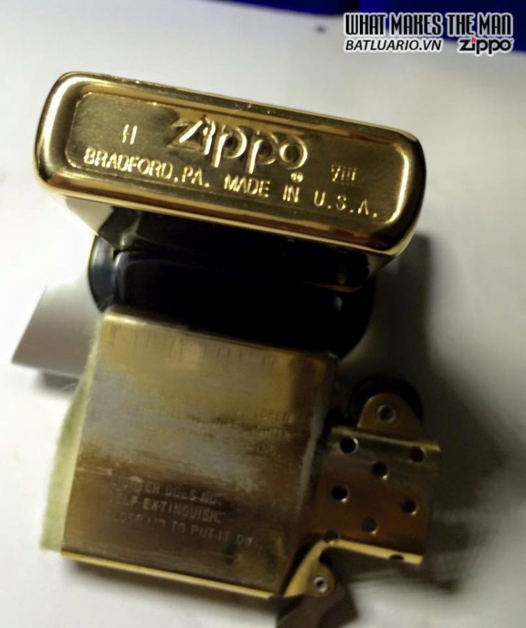 ZIPPO 1997 – GOLD PLATED 3