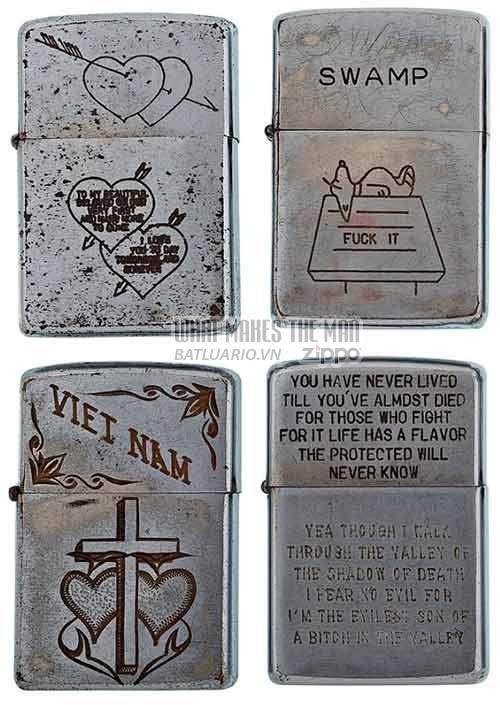 Bộ sưu tập Zippo ĐỘC của lính Mỹ trong chiến tranh Việt Nam 11