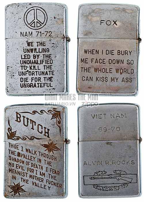 Bộ sưu tập Zippo ĐỘC của lính Mỹ trong chiến tranh Việt Nam 12