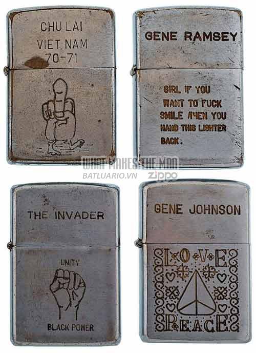 Bộ sưu tập Zippo ĐỘC của lính Mỹ trong chiến tranh Việt Nam 14