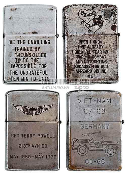 Bộ sưu tập Zippo ĐỘC của lính Mỹ trong chiến tranh Việt Nam 15