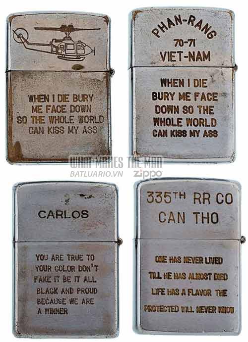 Bộ sưu tập Zippo ĐỘC của lính Mỹ trong chiến tranh Việt Nam 23