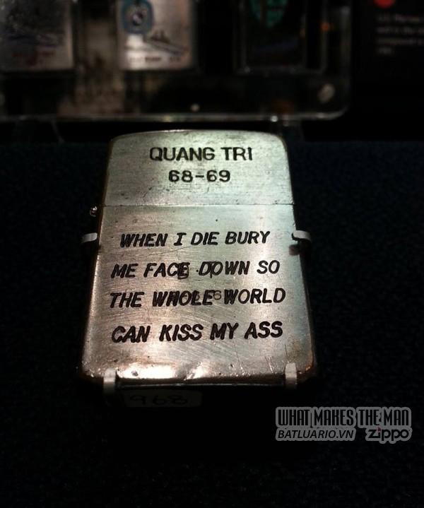 Bộ sưu tập Zippo ĐỘC của lính Mỹ trong chiến tranh Việt Nam 5