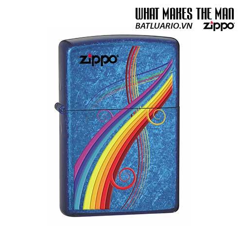 Zippo 24806 - Zippo Rainbow Cerulean Sapphire