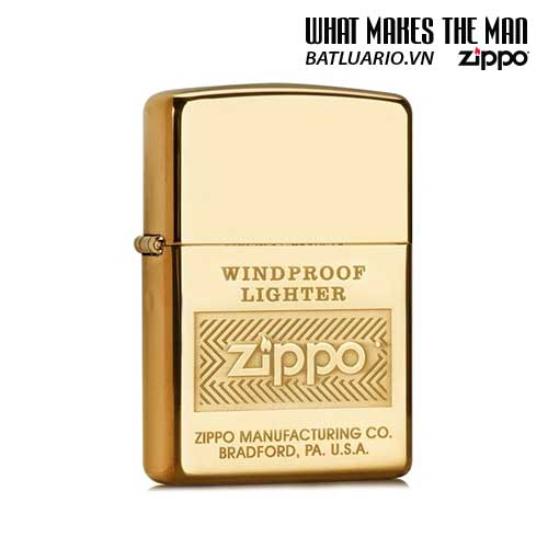 Zippo 28145 - Zippo Windproof High Polish Brass