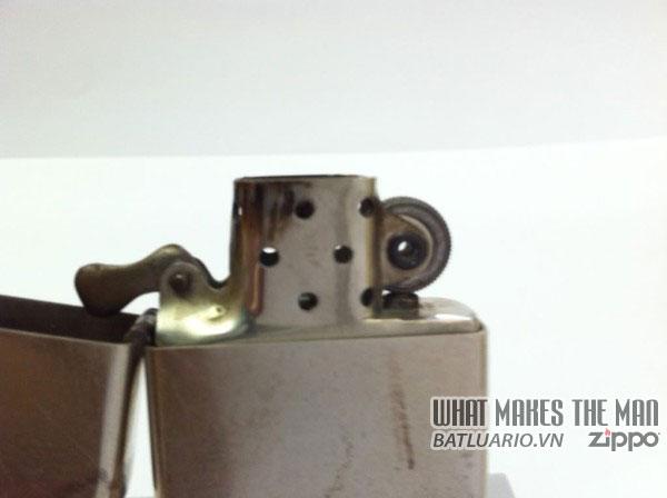 Zippo nickel silver – Bạc niken 1