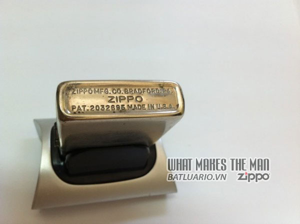 Zippo nickel silver – Bạc niken 5