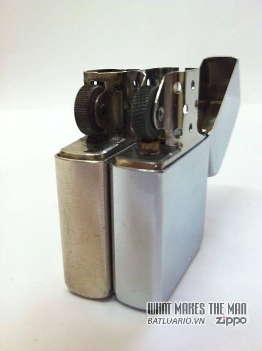 Zippo nickel silver - Zippo Bạc niken và Zippo Bạc Niken mạ chrome 1