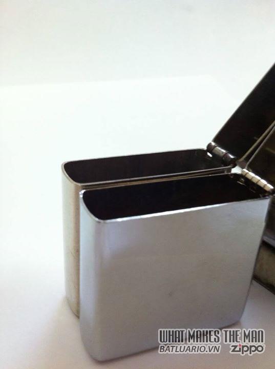Zippo nickel silver - Zippo Bạc niken và Zippo Bạc Niken mạ chrome 3