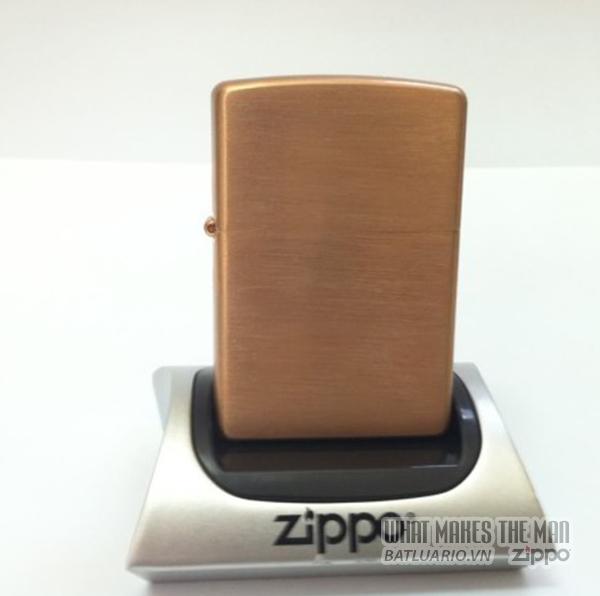 Zippo solid Copper - Đồng đỏ1