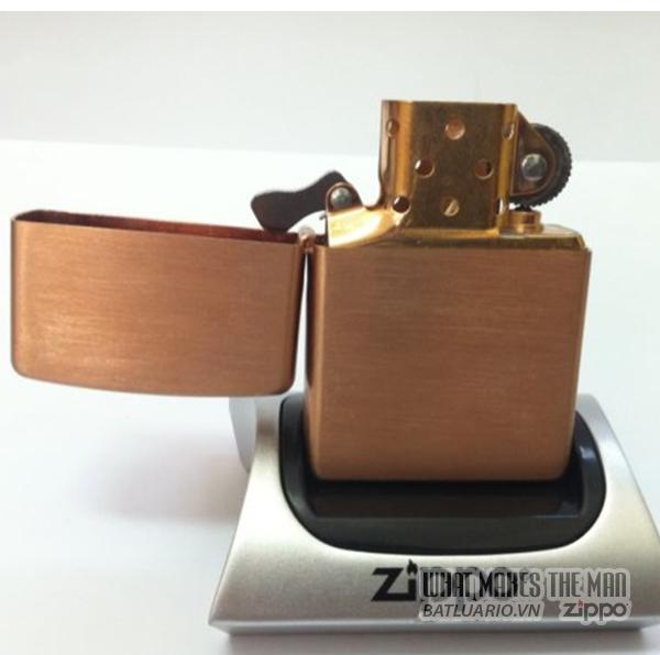 Zippo solid Copper - Đồng đỏ2