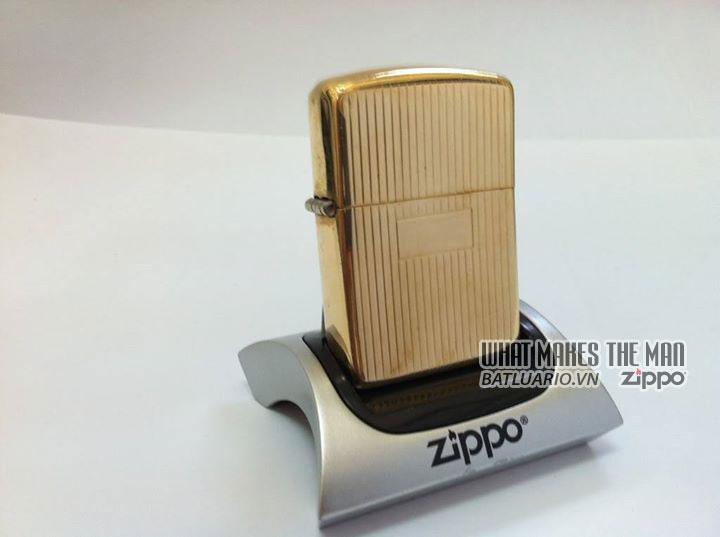 Zippo solid Gold – Zippo Vàng khối 1