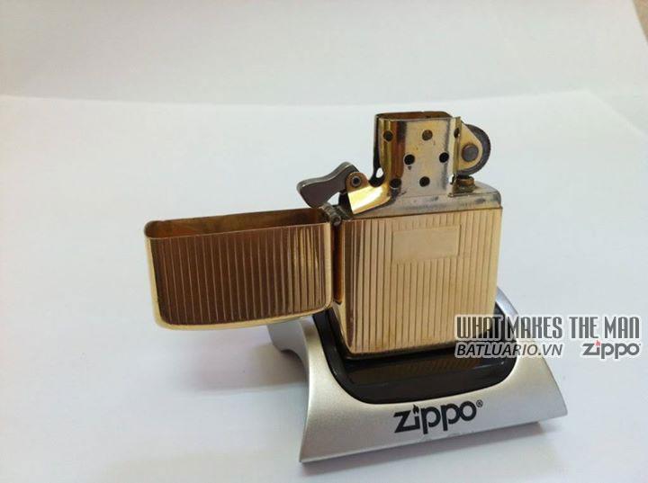 Zippo solid Gold – Zippo Vàng khối 4
