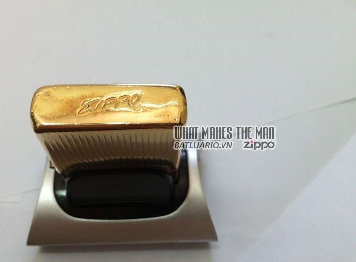 Zippo solid Gold – Zippo Vàng khối 5