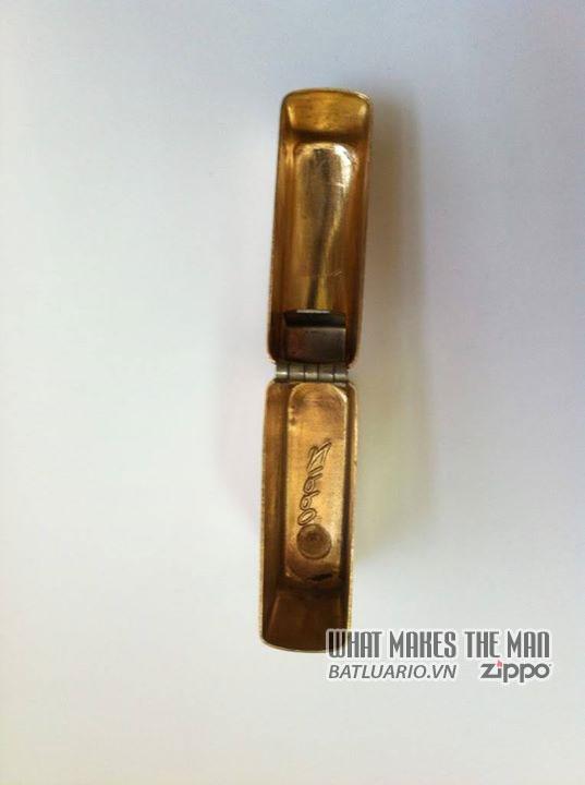 Zippo solid Gold – Zippo Vàng khối 6