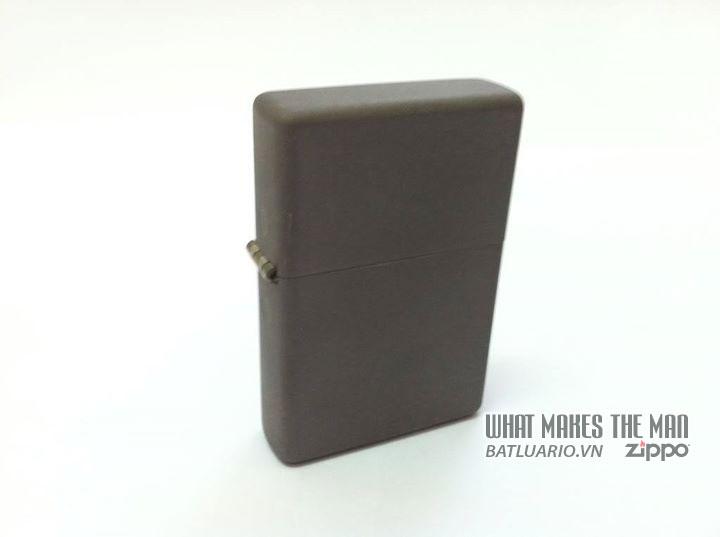 Zippo solid Titanium - Zippo Titan 1