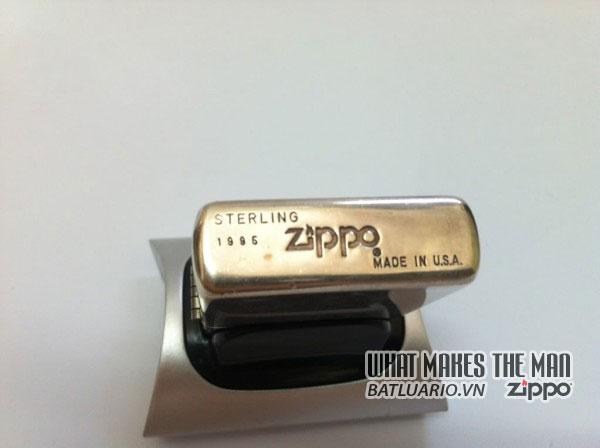 Zippo sterling Silver - Bạc khối3