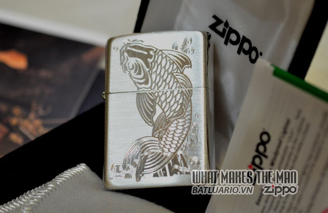 Zippo sterling Silver - Bạc khối4