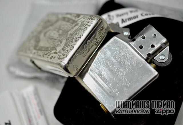 Zippo sterling Silver - Bạc khối5