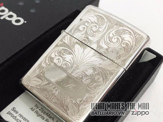 Zippo sterling Silver - Bạc khối6