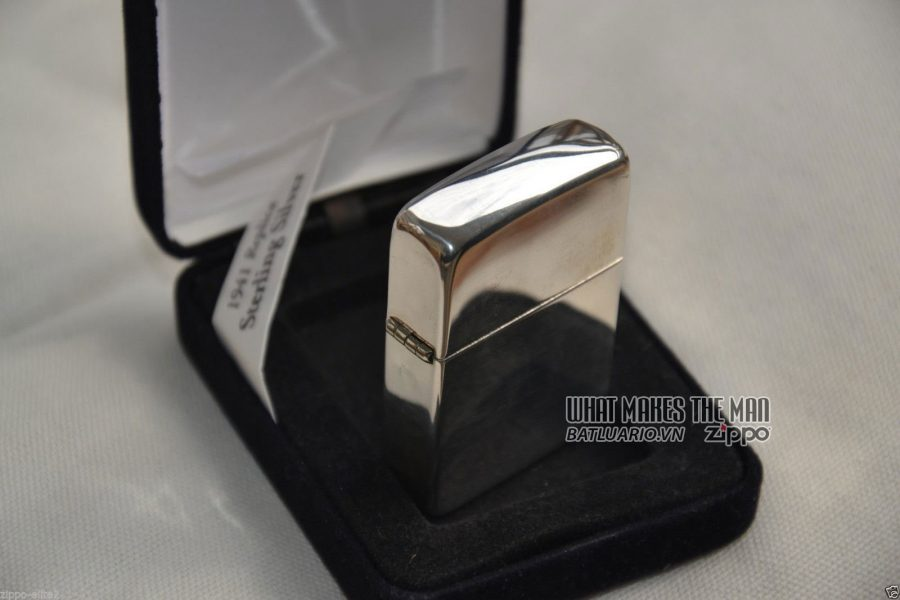Zippo sterling Silver - Bạc khối7