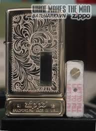 Năm 2002 Zippo thay đổi màu chữ của miếng chặn xăng trong ruột Zippo