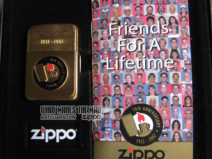 ZIPPO COTY 2002 - Zippo-s 70th Anniversary-3