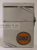 Zippo 1935 và miếng thiếc để quảng cáo