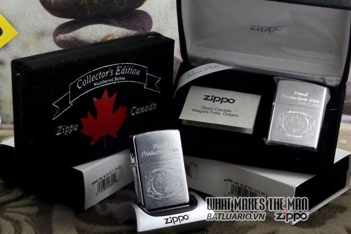 Zippo Canada Final Production Run