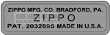 Zippo năm 1951