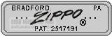 Zippo năm 1961
