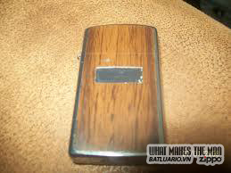 Zippo ốp gỗ