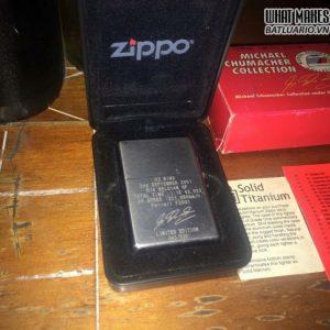 HIẾM – Zippo Solid Titanium Limited 4