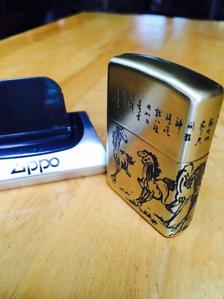 Zippo 169.MDTC - Zippo 169 Khắc Mã Đáo Thành Công 1