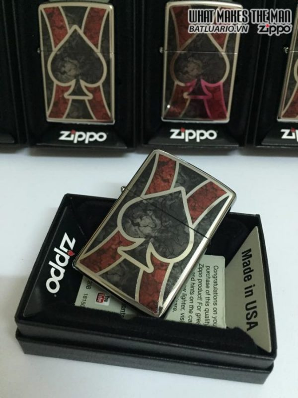 Zippo 28952 – Zippo Ace Fusion High Polish Chrome