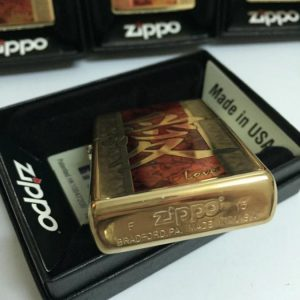 Zippo 28953 – Zippo Chinese Love High Polish Brass Fusion