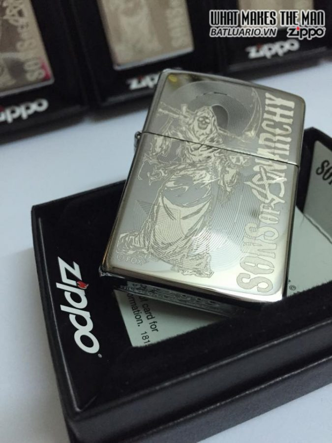 Zippo 28957 – Zippo Soa High Polish Chrome