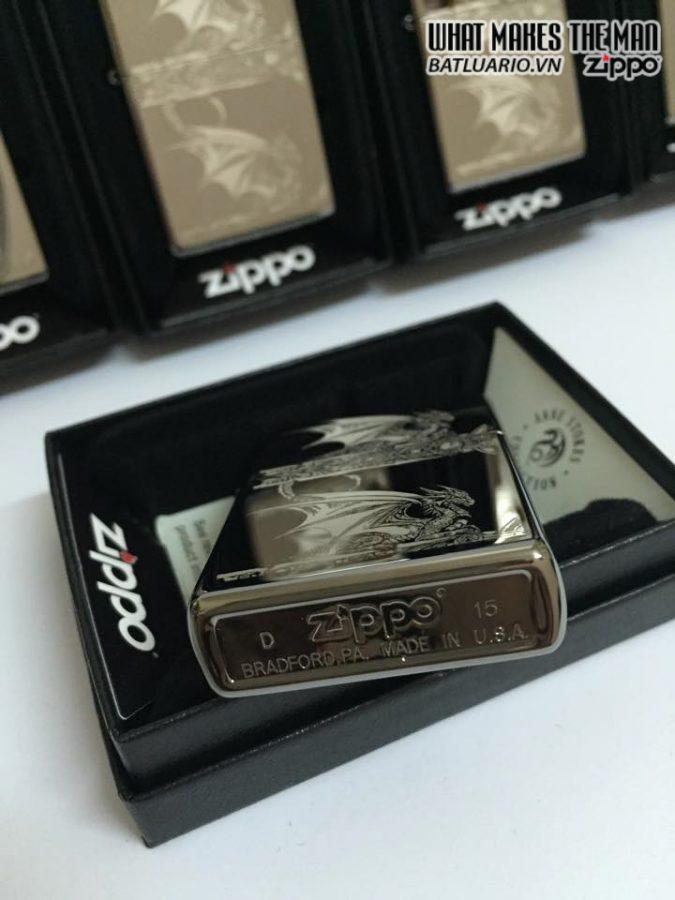 Zippo 28961 – Zippo Anne Stokes Gothic Black Ice Laser Engrave