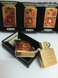 Zippo 28975 – Zippo Shield High Polish Brass Fusion