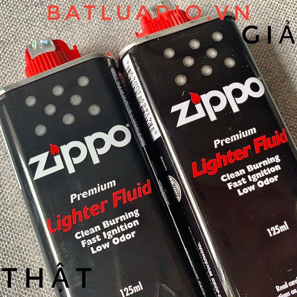Cách phân biệt Xăng Zippo thật và giả 6