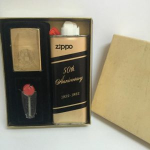 Zippo 1982 50th Anniversary SPECIAL SET 1