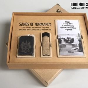Zippo D-Day 60TH Anniversary Commemorative Lighter – SANDS OF NORMANDY 1