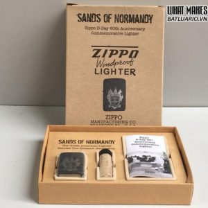 Zippo D-Day 60TH Anniversary Commemorative Lighter – SANDS OF NORMANDY 3